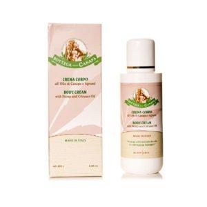 Body Cream with Citruses & Hemp Oil
