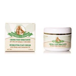 Hydrating Face Cream with Hemp Oil & Calendula