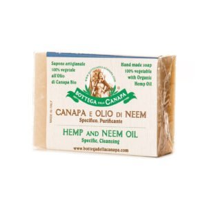 Hemp Soap with Oil of Neem
