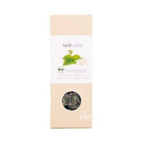Hemp Tea Blend with Elderberry 40g – Certified Organic